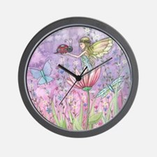 a friendly encounter poster zazzle Wall Clock