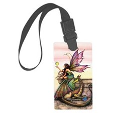 Dragons Orbs Luggage Tag
