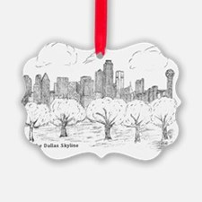 Skyline Sketch H2000 size by Eliz Ornament