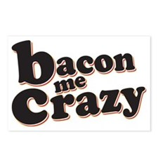 Bacon Me Crazy Postcards (Package of 8)