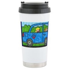 clemy car Travel Mug