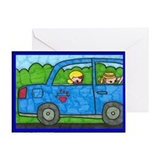 clemy car Greeting Card