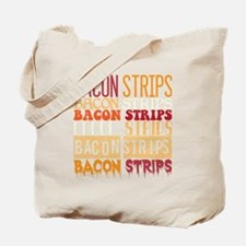 Bacon Strips Tote Bag
