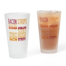 Bacon Strips Drinking Glass