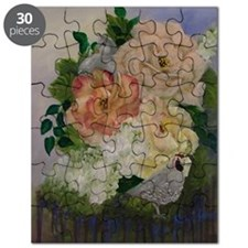 Flowers and Quail2 Puzzle