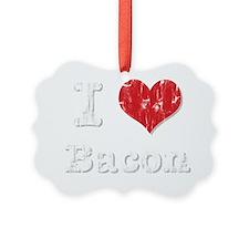 I Heart Bacon Ornament