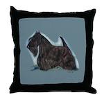 Scottish Terrier - Scotty Dog Throw Pillow