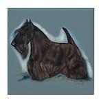 Scottish Terrier - Scotty Dog Tile Coaster