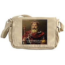 Laughing IsUniversal Messenger Bag