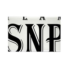 SNP Logo Transparent Rectangle Magnet