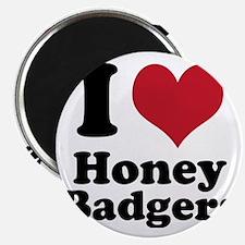 I Heart Honey Badger Magnet