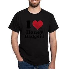 I Heart Honey Badger T-Shirt