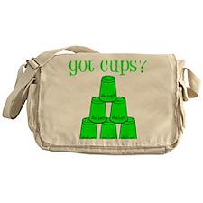 lime, got cups Messenger Bag