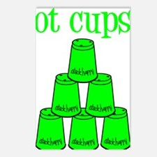 lime, got cups Postcards (Package of 8)