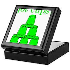 lime, got cups Keepsake Box