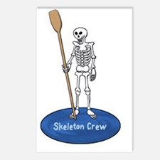 skeletonfront4blk Postcards (Package of 8)