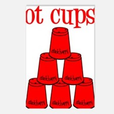 red, got cups Postcards (Package of 8)