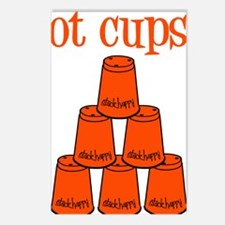 orange, got cups Postcards (Package of 8)