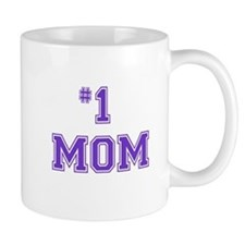 #1 Mom in purple Mugs