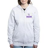 Worlds best mom hoodie Zip Hoodies