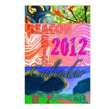 BeacArtsCalendar2012front Postcards (Package of 8)
