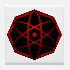 atomic man Tile Coaster