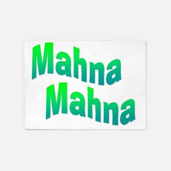 mahnamahna 5'x7'Area Rug