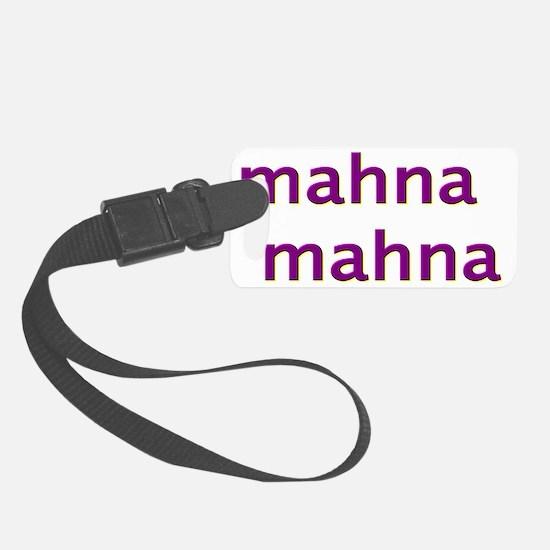 mahnamahnapurple Luggage Tag