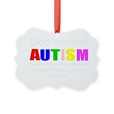 Autism vs boredom Ornament