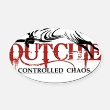 Dutchie-chaos-PNG Oval Car Magnet