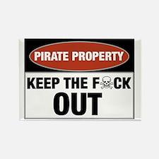 pirateproperty Rectangle Magnet