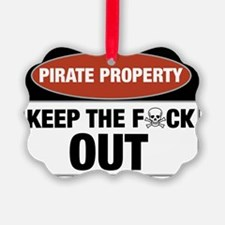 pirateproperty Ornament