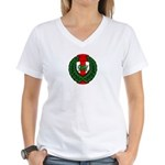 Midrealm Laurel Shield Women's V-Neck T-Shirt