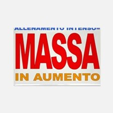 MASSA IN AUMENTO.gif Rectangle Magnet