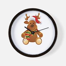 santa44 Wall Clock