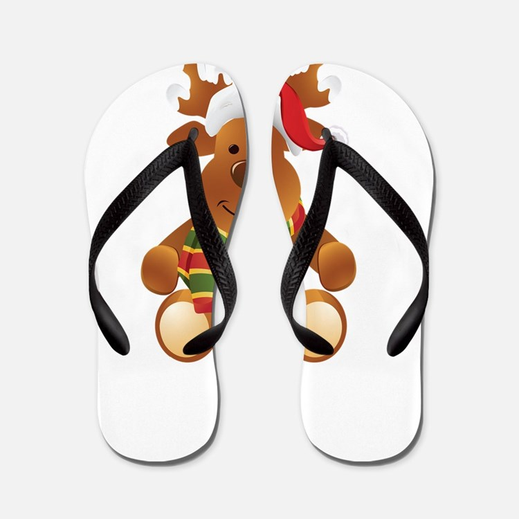 santa44 Flip Flops