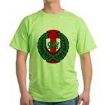 Midrealm Laurel Shield Green T-Shirt