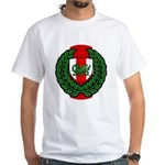 Midrealm Laurel Shield White T-Shirt