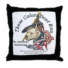 watchdog Throw Pillow