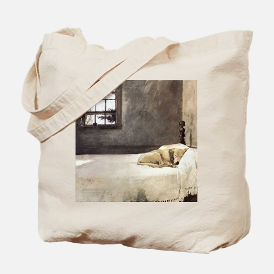 yellow lab wallet andrew wyeth copy Tote Bag