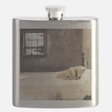 yellow lab wallet andrew wyeth copy Flask