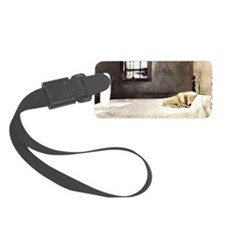yellow lab shoulder bag andrew w Luggage Tag