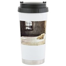 yellow lab shoulder bag andrew  Travel Mug
