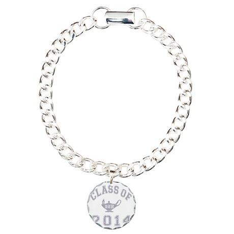CO2014 BSN Grey Distress Charm Bracelet, One Charm