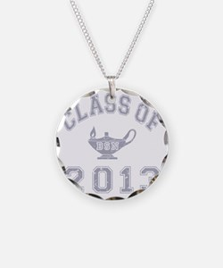 CO2013 BSN Grey Distressed Necklace
