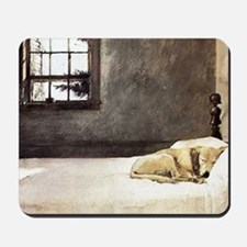 yellow lab laptop skin copy Mousepad