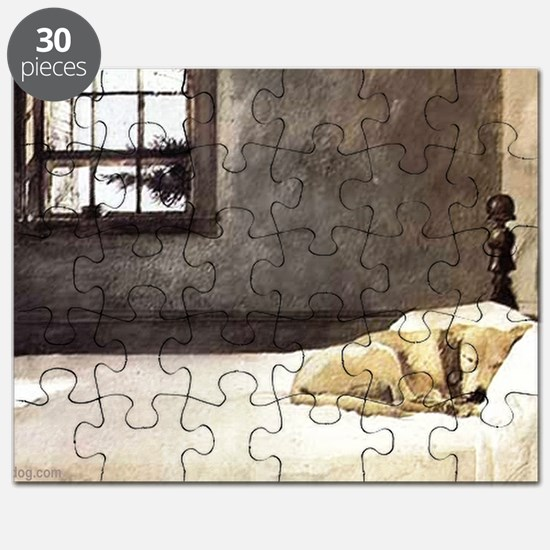 yellow lab laptop skin copy Puzzle