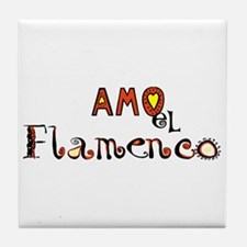 AMO el Flamenco, Tile Coaster