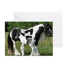 Calendar Chavali and foal Greeting Card