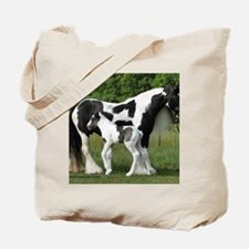 Calendar Chavali and foal Tote Bag